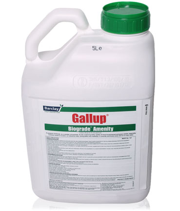 Gallup weed control