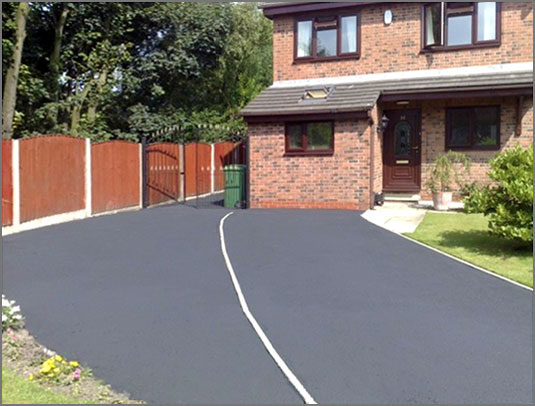 Tarmac colouring by HB Drive Clean West Midlands